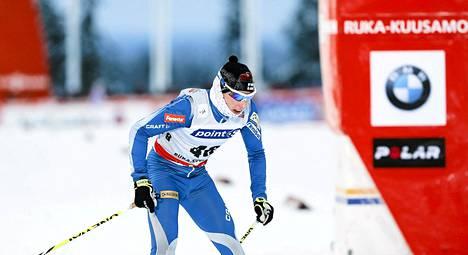 Matti Heikkinen nousi Rukan takaa-ajokisassa 25 sijaa.