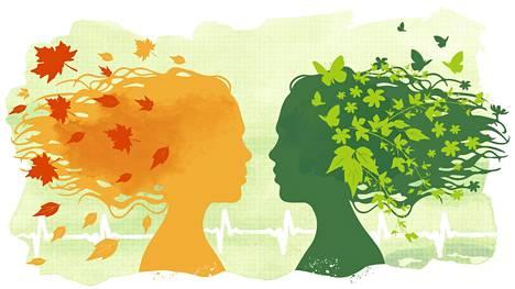 Verenpaine kohoaa loppusyksyllä ja tulehdusarvot kevätkesällä, Kaliforniassa tehty tutkimus havaitsi.