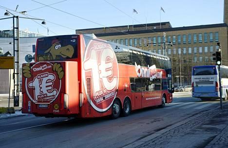 Onnibus aloitti vuosi sitten laajentumisen, jonka epäonnistumisen vuoksi yhtiöllä on nyt käynnissä yt-neuvottelut.