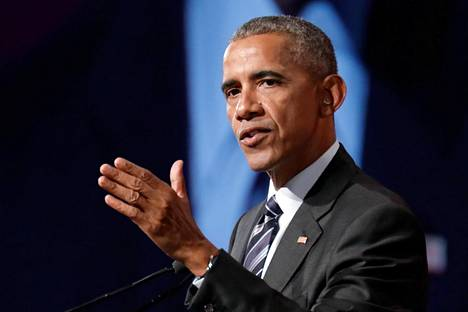 Barack Obama puhui kesäkuussa Montrealissa.