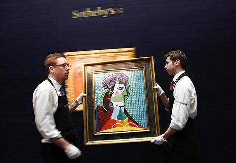 Picasson Tete de femme (Naisen pää, 1935) on yli 20 miljoonan euron arvoinen.