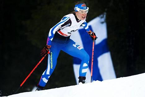 Kerttu Niskanen starttaa sunnuntain takaa-ajoon sijalta 12.