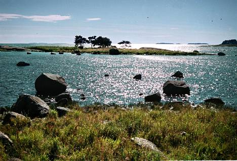Kotkan saaristoa.
