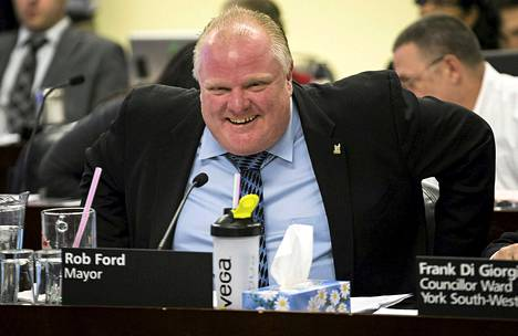 Toronton pormestari Rob Ford