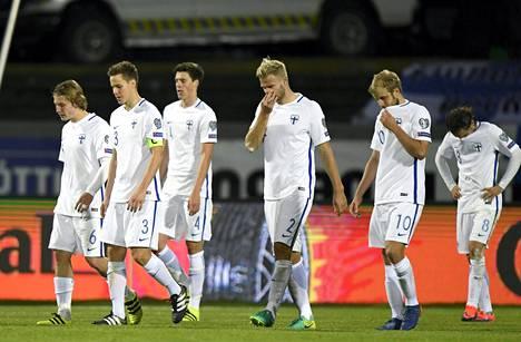 Suomea ei nähdä jalkapallon MM-kisoissa vuonna 2018, ja televisiointikin on vielä Suomessa auki.