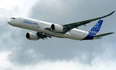 Finnair tilaa kahdeksan uutta Airbus A350 –konetta.