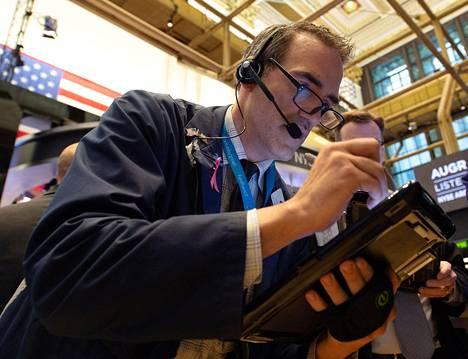Pörssimeklarit tekivät osakekauppaa New Yorkin pörssissä keskiviikkona.