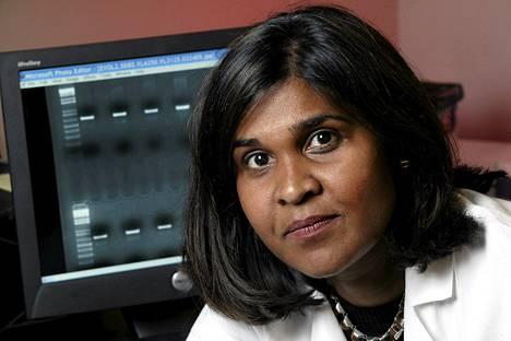 Baltimorelaisen Johns Hopkins -lastensairaalan virologi Deborah Persaud raportoi vauvan parantuneen ensimmäistä kertaa hiv-infektiosta.