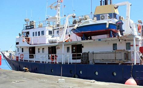 Joukkorahoituksella hankittu C-Star-alus on ilmoittanut aikovansa häiritä pelastusaluksia Välimerellä.