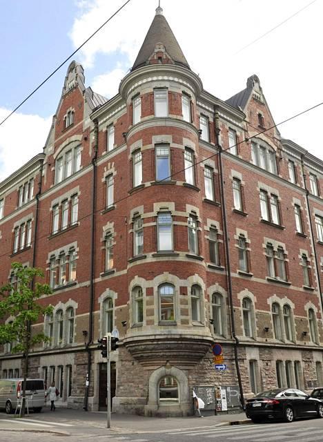 Mika Vehviläisen asunto sijaitsee Helsingin keskustassa.