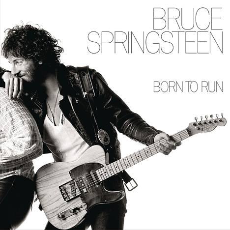 Springsteenin Born to Run -albumi vuodelta 1975.