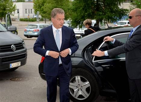Sauli Niinistö toteaa, että hän ei ole presidentinvaaleissa Nato-jäsenyyttä ajanut.