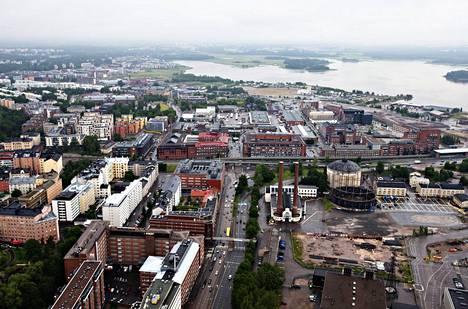 Sörnäisten tunnelia kaavaillaan Suvilahteen Sörnäisten rantatien jatkeeksi.