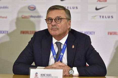 Rene Fasel kuvattuna 5. tammikuuta 2020.