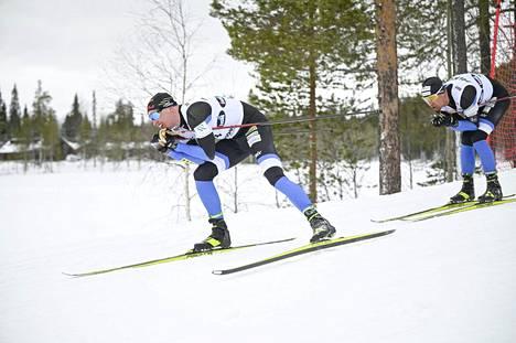 Iivo Niskanen oli nopein maastohiihdon miesten 20 kilometrin vapaan hiihtotavan Suomen cupin yhteislähtökisassa Rukalla lauantaina.