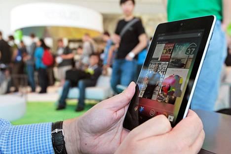 Googlen Nexus 7 -tablettitietokone julkistettiin viime viikolla.