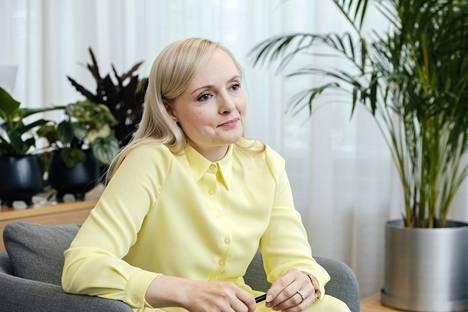 Vihreiden puheenjohtaja Maria Ohisalo