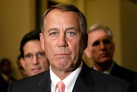 Yhdysvaltain kongressin edustajainhuoneen puheenjohtaja John Boehner