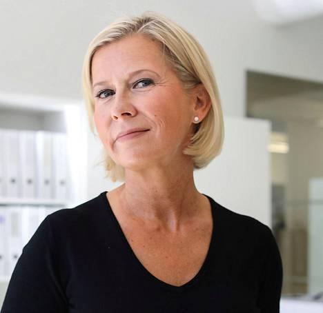 Suomalaisen vaatefirma Andiatan perustaja ja toimitusjohtaja Tarja Rantanen.