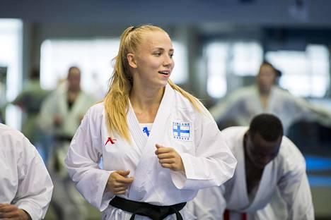 Titta Keinänen nousi viime vuonna hurjasti ylöspäin karaten maailman rankinglistalla.