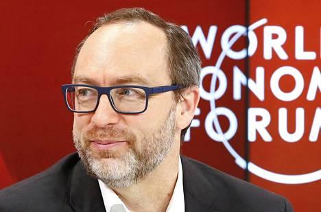 Jimmy Wales Sveitsissä tammikuussa 2016.