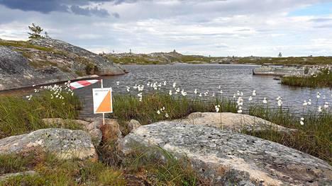 Järvirasti Vätsärin erämaa-alueella.