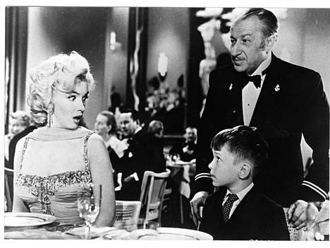 Marilyn Monroe näytteli elokuvassa Herrat pitävät vaaleaveriköistä.