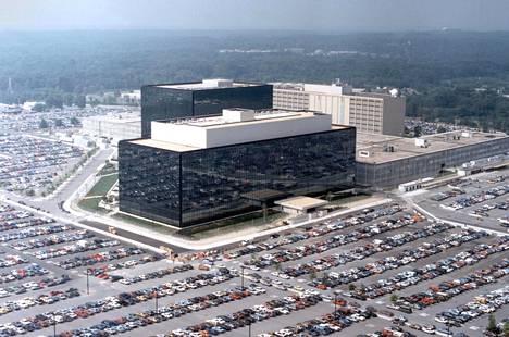 NSA päämaja Yhdysvaltojen Fort Meadessa Marylandin osavaltiossa.