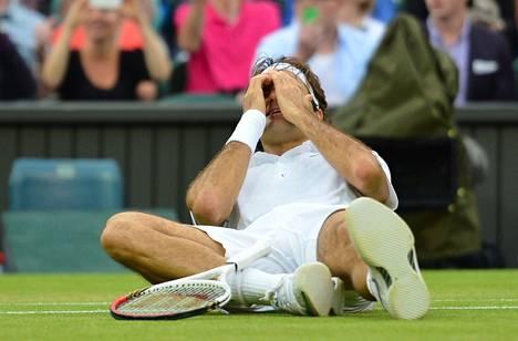Roger Federer voitti Wimbledonin tennisturnauksen – jälleen. Hän on ollut Wimbledonissa paras peräti seitsemän kertaa.