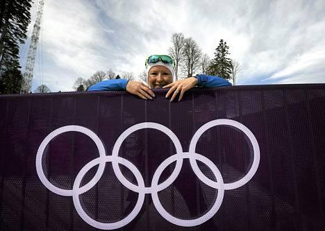 Riitta-Liisa Roposen päivät ovat madelleet olympialaisissa.