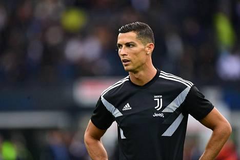 Juventusta edustava Cristiano Ronaldo pelasi Udinese Calciota vastaan lokakuun alussa.
