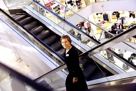 Helsingin keskustan Stockmannilla on tehty viiden miljoonan euron edestä remontteja kuluneen vuoden aikana. Maiju Niskasen mukaan ensi vuonna on tarkoitus vielä uudistaa naisten ja miesten vaateosastot.