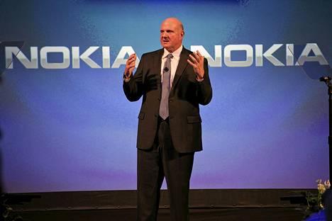 Microsoftin silloinen toimitusjohtaja kävi Suomessa kertomassa Nokian ja Microsoftin matkapuhelinkaupasta syksyllä 2013.