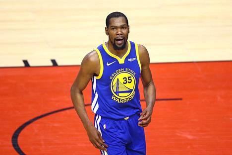 Kevin Durant siirtyy Brooklyniin.