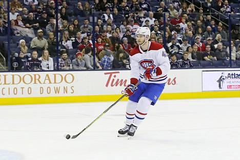 Montrealin Canadiensin Joel Armia pääsi tekemään kaksi maalia Columbuksen tyhjään verkkoon.