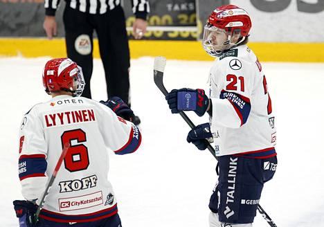 Ville Leskinen teki voittomaalin Ässiä vastaan. Tehokasta kautta paluunsa jälkeen pelannut Leskinen oli osunut myös joukkueiden aiemmassa kohtaamisessa paria viikkoa aiemmin.