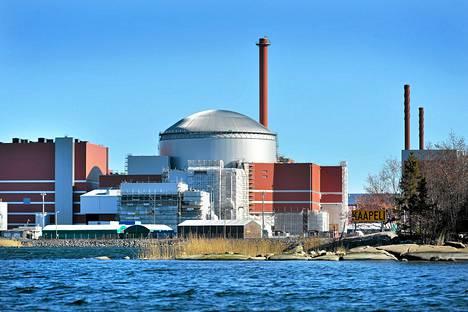 TVO Olkiluoto 3 ydinvoimalatyömaa Eurajoella Satakunnassa.