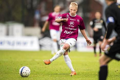 Vielä viime kaudella Matti Klinga pelasi FC Lahdessa.