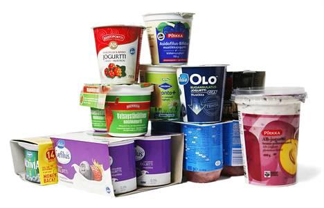 Probiootteja lisätään moniin elintarvikkeisiin kuten jugurtteihin ja mehuihin.