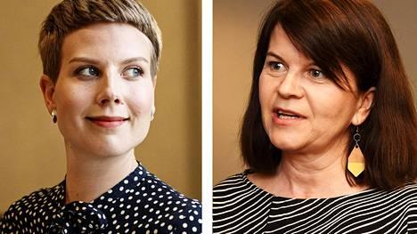 Jenni Pitko ja Outi Alanko-Kahiluoto