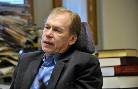Suomen antidopingtoimikunnan lääketieteellinen johtaja Timo Seppälä