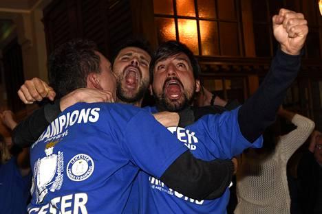 Leicesterin fanit kokoontuivat maanantaina Hogarth-nimiseen pubiin katsomaan Chelsean ja Tottenhamin ottelua.