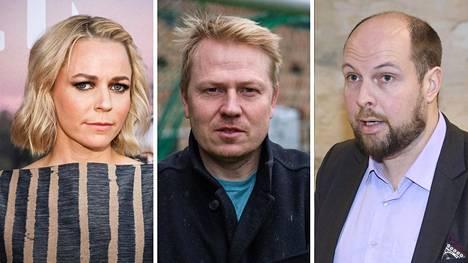 Paula Vesala, Aki Riihilahti ja Tuomo Puumala