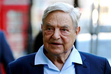 George Soros vuonna 2016.