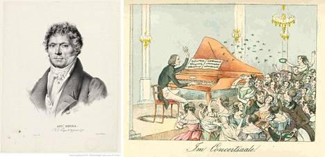 Antoine Reicha (vas.) työskenteli Pariisin konservatorion sävellysprofessorina. Myös pianovirtuoosina tunnettu Franz Liszt oli yksi hänen kuuluisista oppilaistaan.