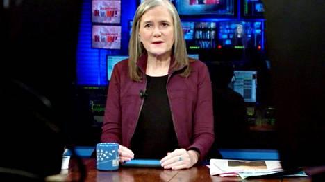 Amy Goodman kuuluu riippumattomien Democracy Now -ohjelmien lähetysten perustajiin.