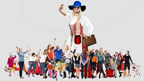 Yksilöllisessä kuluttamisessa on tavallaan kyse illuusiosta, sillä massakulttuuri ohjaa Suomessakin kulutusta yhä enemmän, sanoo sosiologian professori Terhi-Anna Wilska.