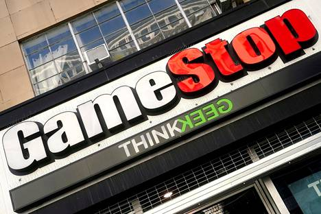 Pelikauppayhtiö Gamestopin osakkeen arvo nousi keskiviikkona lähes 104 prosenttia.