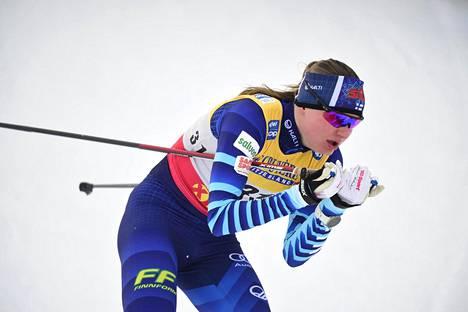 Johanna Matintalo tuli marraskuun lopulla Rukan mc-avaukseen sairastelun takia keskenkuntoisena ja saavutti kolmessa osakilpailussa vain yhden pisteen.