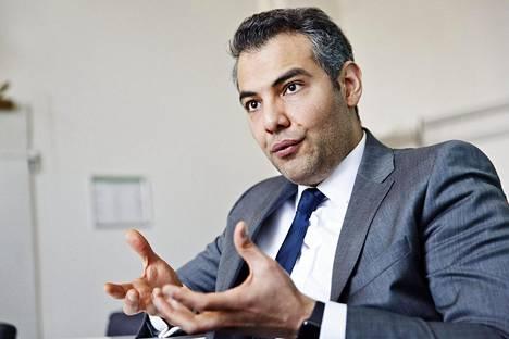 Hussein al-Taee on Sdp:n uusi kansanedustaja.